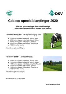 thumbnail of Cebeco frøblandinger 2020